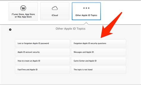 how to reset security questions on iphone what to do when you forget your apple id password