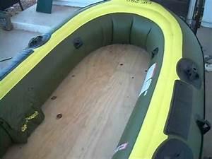 sevylor fish hunter hf 280 hf 360 wood plywood floor With bouney parquet