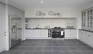 8 best images about koelkast hoge kast on pinterest in With kitchen colors with white cabinets with carpe diem wall art