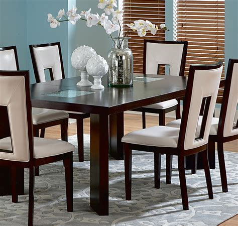 dining room sets with leaf steve silver delano 7 dining room set w leaf