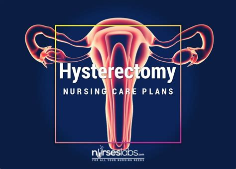 hysterectomytahbso nursing care plans nurseslabs