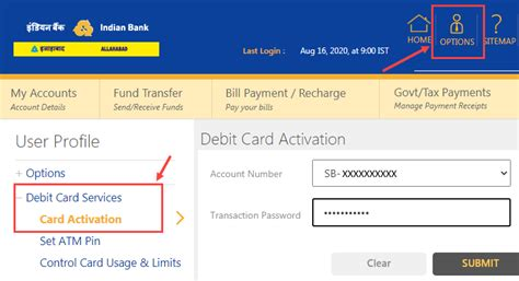 For most of the available credit cards, it is possible to do the activation online. How To Activate Indian Bank Debit Card Online - BankingIdea.org