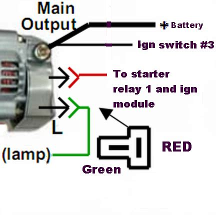alternator relay diagram 24 wiring diagram images