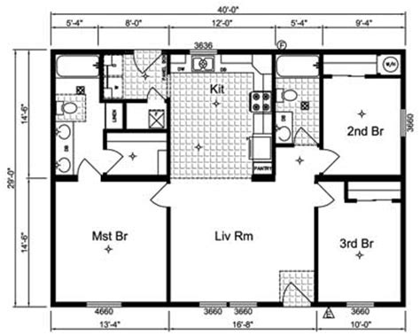 simple great room house plans one story ideas floorplan the housing forum