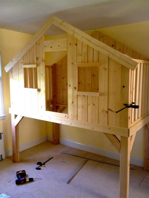 diy clubhouse bed  owner builder network