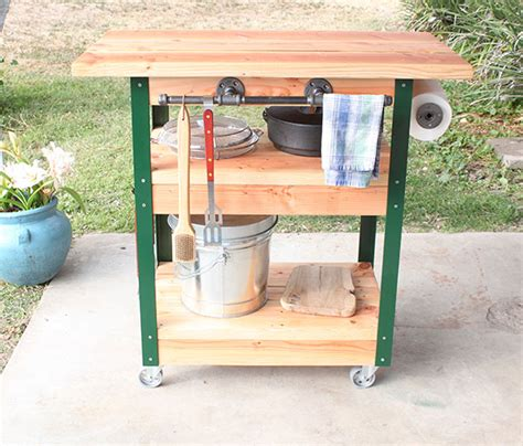 butcher block cutting board plans how to build a diy grilling cart the home depot