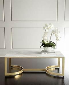Table Marbre Rectangulaire : table basse en marbre 58 id es pour donner du style au salon ~ Teatrodelosmanantiales.com Idées de Décoration