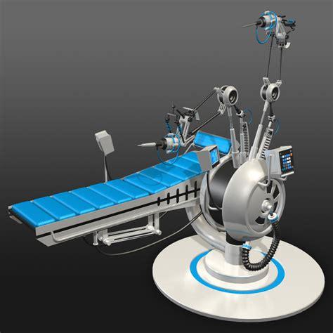 futuristic medical bed ds
