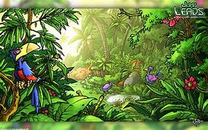 Jungle Theme Wallpaper - WallpaperSafari