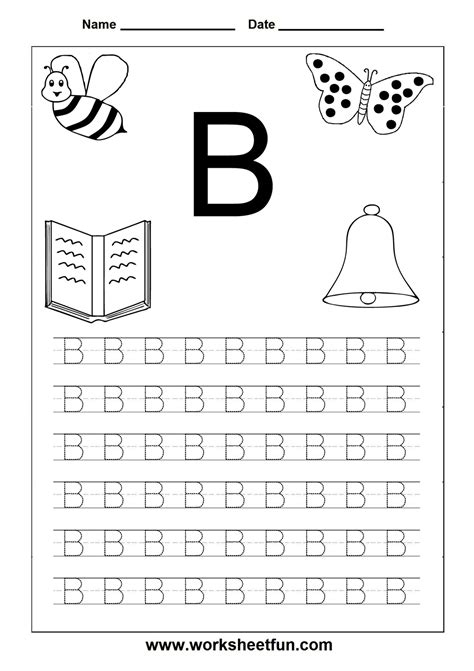Free Printables For Letter Tracing Worksheets For Kindergarten  Capital And Small Letters