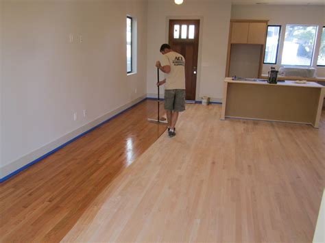 hardwood floor refinishing green button homes