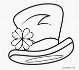 Leprechaun Coloring Pages Printable Hat Cool2bkids Template Credit Larger sketch template