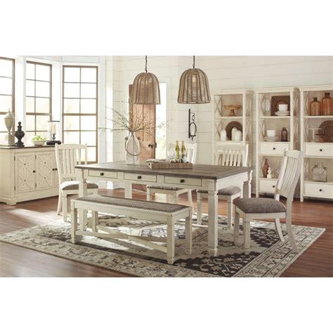 ashley furniture dinner tables ashley furniture bolanburg rectangular dining set in white