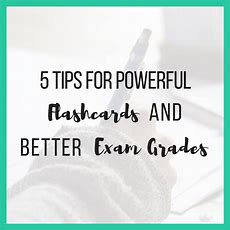 5 Tips For Powerful Flashcards And Better Exam Revision Chloeburroughscom