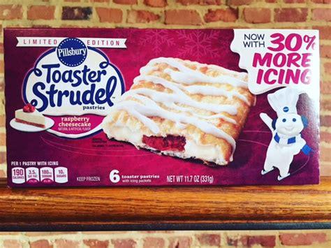 Pillsbury Raspberry Cheesecake Toaster Strudel