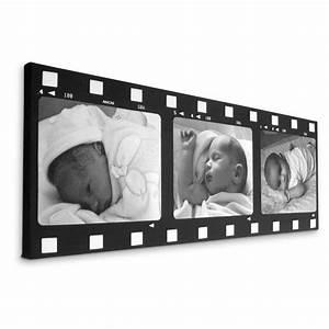 Bettwäsche Bedrucken Lassen : filmstreifen collage selbst gestalten leinwand bedrucken ~ Michelbontemps.com Haus und Dekorationen