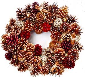 pine cone wreath 20 in the wreath depot