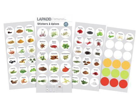 epice cuisine etiquettes epices table de cuisine