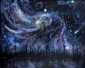 Original paintings, Galaxies and Galaxy space on Pinterest