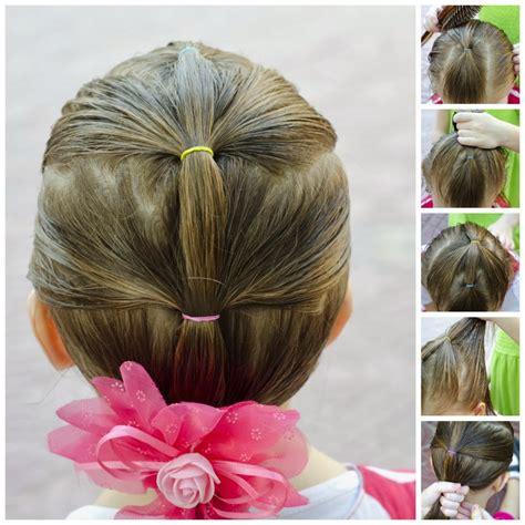 coiffure pour une fille coiffure simple et facile