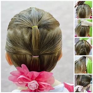 Coiffure Facile Pour Petite Fille : coiffure facile et rapide pour petite fille ~ Nature-et-papiers.com Idées de Décoration