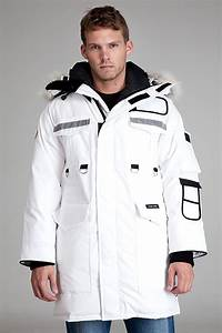 Lyst Canada Goose Resolute White Parka In White For Men