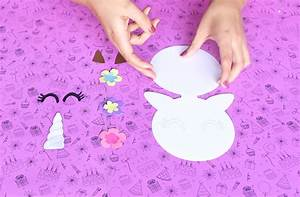 Unicornio 🦄🌈 Invitación DIY + moldes Party Pop