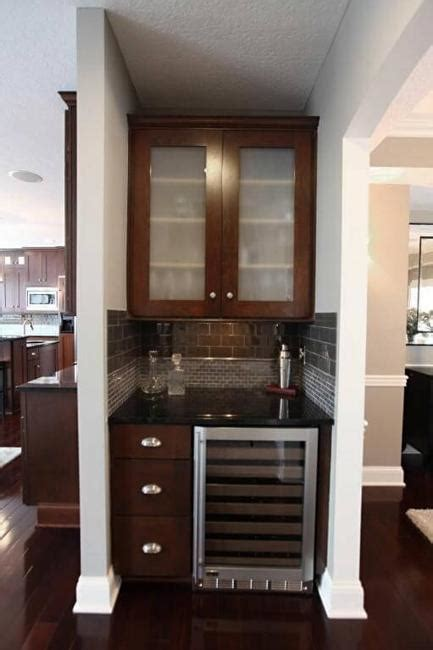 Bar Cabinet For Small Spaces by Small Home Bar Ideas Maximizing Wall Niche Space