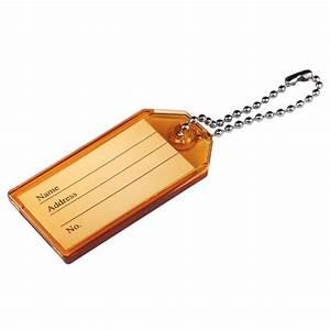 The Hillman Group Hard Plastic Key Identification Tag Assortment-701294