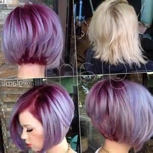 coupe de cheveux pour visage modele coiffure carre plongeant les tendances mode du automne hiver 2017