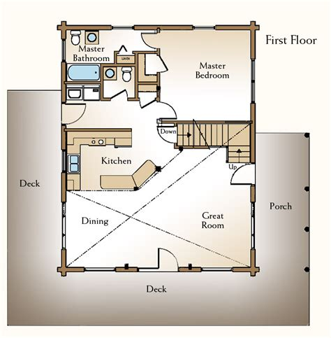 cottage floor plans free cabin house plan with loft plans free zany85pel