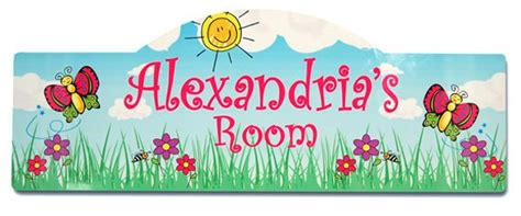 Personalized Kid's Room Signs