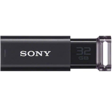 sony microvault click usb flash drive 32gb usm32gu black jakartanotebook