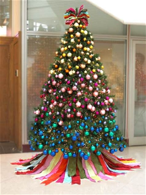 christmas tree decorated ideas a festival of christmas trees 4505