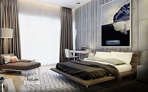 Masculine bedroom design interior design ideas for Interior design male bedroom
