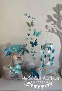 38 best images about decoration chambre enfant bebe With deco chambre turquoise gris