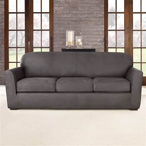 sure fit ultimate stretch sofa slipcover reviews wayfair With sure fit sectional sofa covers