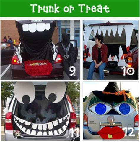 trunk or treat ideas trunk or treat ideas cute as these get more and more popular happy fall y all pinterest