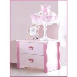 Le De Chevet Fille Fly by Table De Chevet Pour Chambre Fille Princess Rose Achat