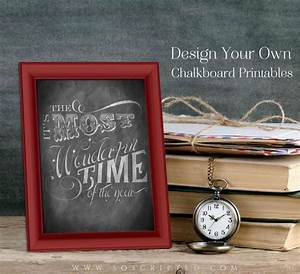 how to design custom chalkboard printables for free With custom chalkboard printables