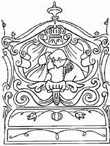 Cinderella Pages Carriage Coloring Drawing Clip Carriages Getdrawings Coloringhome sketch template