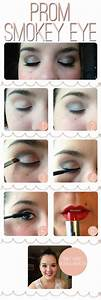 Prom Smokey Eye Makeup Tutorial » The Lovely Project