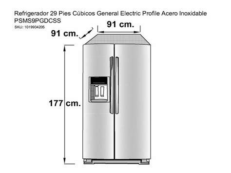 general electric profile psmspgdcss refrigerador  pies