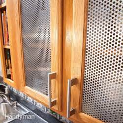 changing kitchen cabinet doors ideas ideas for the kitchen cabinet door inserts the family handyman