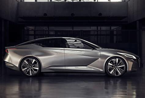 nissan vmotion  concept hints  future sedan design