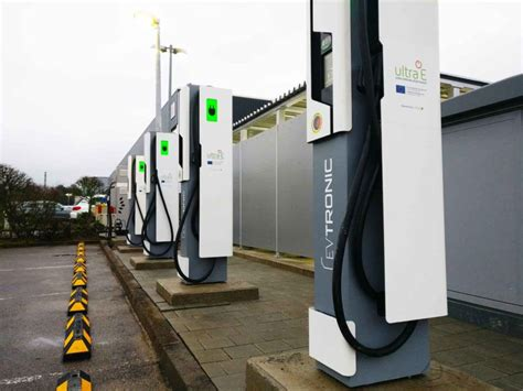 First Public Ultra-fast Ev Charging Station In Europe Is