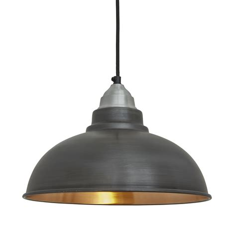 Vintage Pendant Lighting by Factory Vintage Pendant Light Pewter And Copper