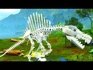 LEGO Jurassic World Spinosaurus Skeleton Free Roam ...