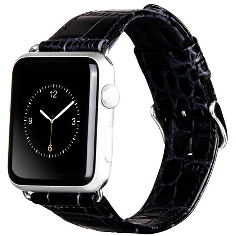 hoco alligator style leather band  apple  mm