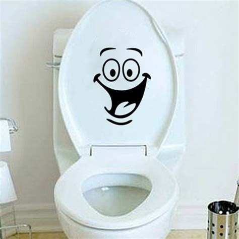 big mouth smile wc stickers wall decorations diy vinyl